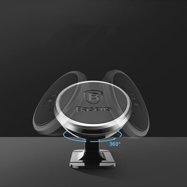 Baseus Magnetic Car Phone Holder For iPhone XS X Samsung Magnet Mount Car Holder For Phone in Car Cell Mobile Phone Holder Stand-in Mobile Phone Holders & Stands from Cellphones & Telecommunic