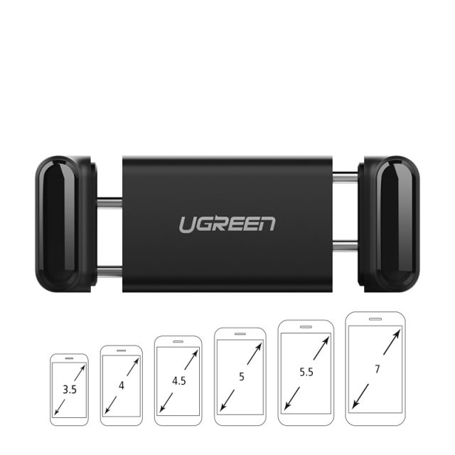 Ugreen Phone Holder No Magnetic Air Vent Mount Stand Smartphone Support Holder in Car for iPhone XR Mobile Phone Holder Stand-in Mobile Phone Holders & Stands from Cellphones & Telecommunicati