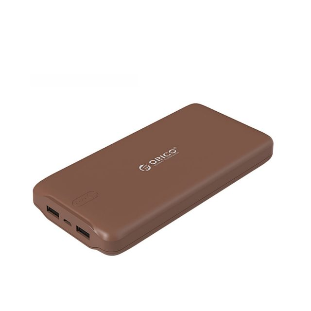 ORICO 20000mAh Portable Power Bank USB 5V2.4A Powerbank External Battery Charger for Mobile Phones Tablet Brown / White / Pink-in Power Bank from Cellphones & Telecommunications on Aliexpress.com