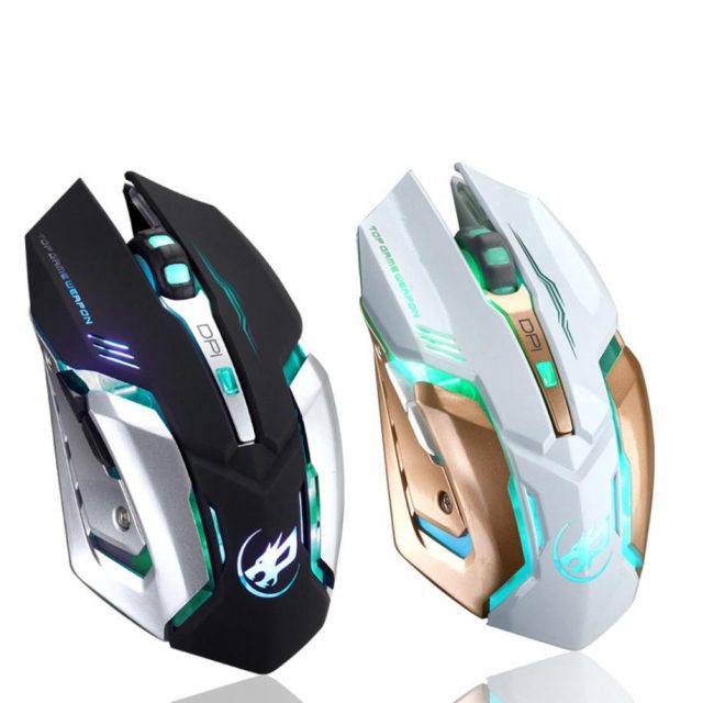 Rechargeable T1 Wireless Silent LED Backlit USB Optical Ergonomic Gaming Mouse LOL Gaming Mouse Surfing The Mouse # ZC-in Mice from Computer & Office on Aliexpress.com | Alibaba Group