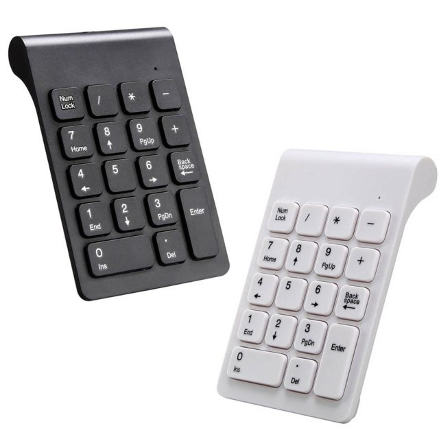 New Portable 2.4G Wireless Digital Keyboard USB Number Pad 18 Keys Mini Numeric Keypad For Laptop PC Notebook Desktop  D-in Keyboards from Computer & Office on Aliexpress.com | Alibaba Group