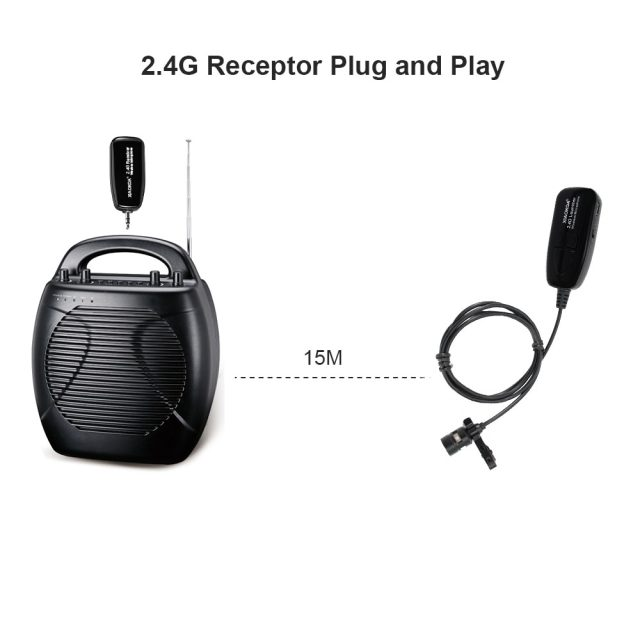 2.4G lavalier 40 50m Wireless Microphone Headset Handheld for Voice Amplifier phone for recording teaching microphones XIAOKOA-in Microphones from Consumer Electronics on Aliexpress.com | Alibaba Grou