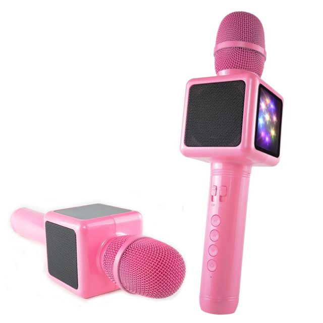 Karaoke Microphone Wireless Bluetooth Speaker Music Player Portable Handheld Microphones Party KTV Singing Device Gift for Girl-in Microphones from Consumer Electronics on Aliexpress.com | Alibaba Gro