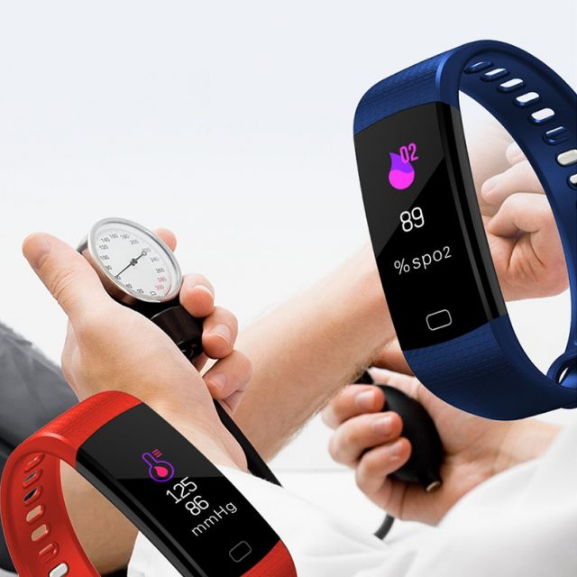 TimeOwner Smart Band Y5 Heart Rate Blood Pressure Monitor High Brightness Colorful Screen Smart Bracelet Wristband Notification-in Smart Wristbands from Consumer Electronics on Aliexpress.com | Alibab