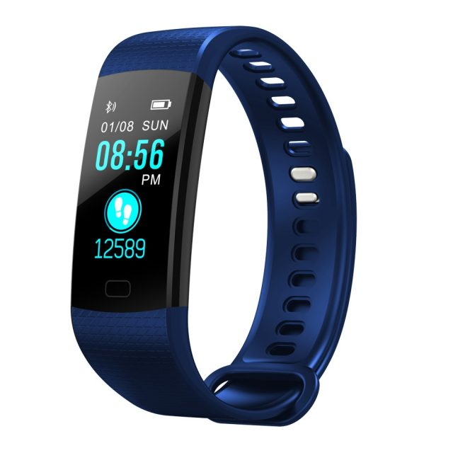 Slim Fitness Tracker with Optional Straps