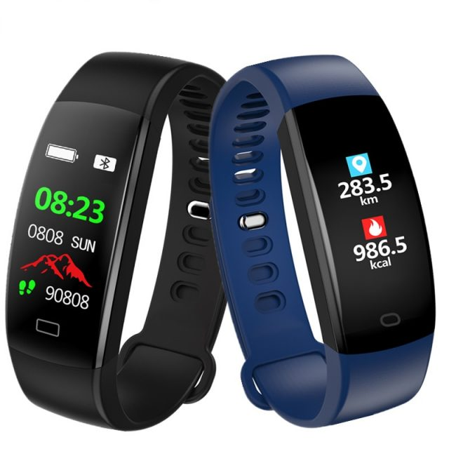 LUOKA Smart Bracelet Color Screen Blood Pressure Fitness Tracker Heart Rate Monitor Smart Band Sport for Android IOS-in Smart Wristbands from Consumer Electronics on Aliexpress.com | Alibaba Group