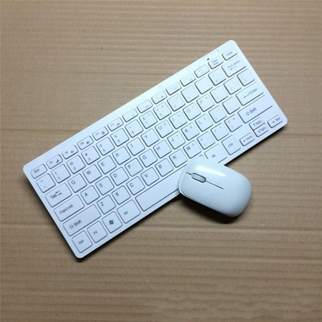 Kemile 2.4G Mini Wireless Keyboard and Optical Mouse Combo Black/whit for Samsung Smart TV Desktop PC -in Keyboard Mouse Combos from Computer & Office on Aliexpress.com | Alibaba Group