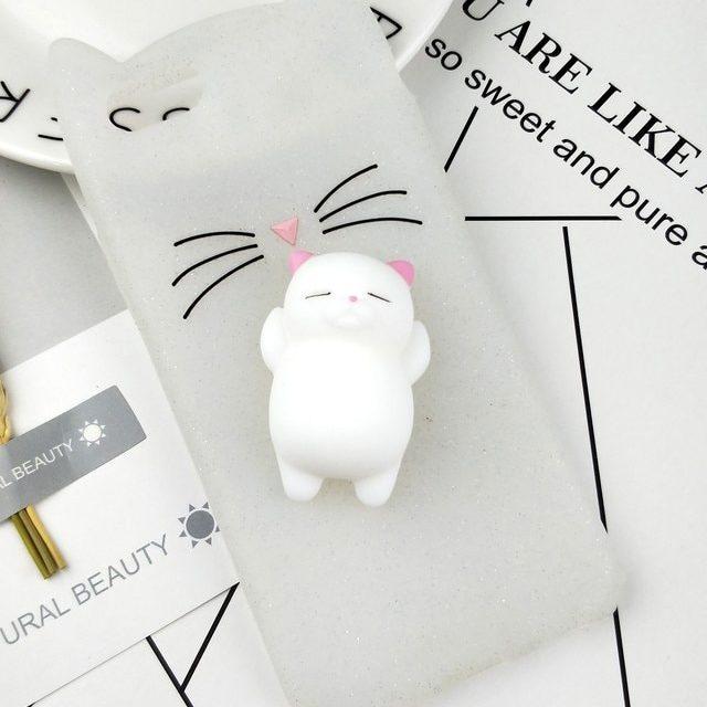 Cute Cat Phone Case for iPhone Models