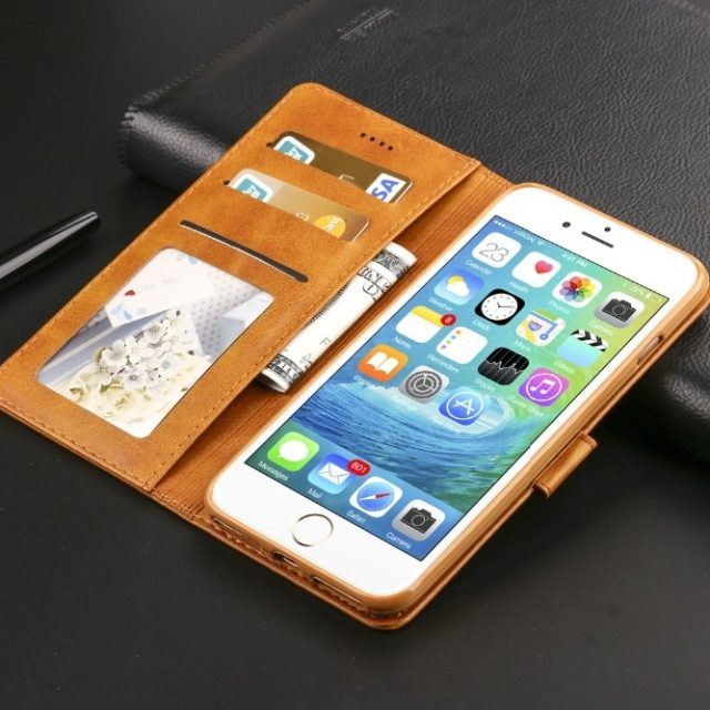 Retro Luxury Leather Flip Case For iPhone 6 s 7 8 plus iPhone x XS Max XR Wallet Cover iphone 6s Case With Card Holder Phone Bag-in Wallet Cases from Cellphones & Telecommunications on Aliexpress.