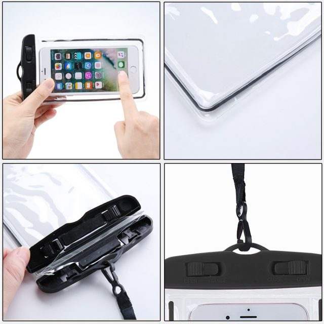 KISSCASE Waterproof Phone Case For Samsung Galaxy S10 S9 Plus Cover under water Pouch Bag Case For Huawei mate 20 P30 lite pro  -in Phone Pouches from Cellphones & Telecommunications on Aliexpress